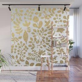 Botanica - gold Wall Mural