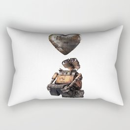 Wall E Rectangular Pillow