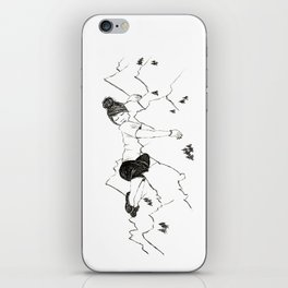 Mountain Girl iPhone Skin