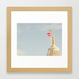 Just the flag Framed Art Print
