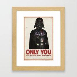 Imperial Propaganda Framed Art Print