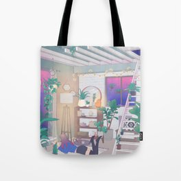 Evening Reads Tote Bag