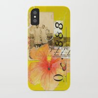 agnes cecile iPhone & iPod Cases featuring Agnes & Annie by Shelley Kommers