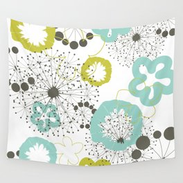 Flower a background Wall Tapestry