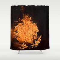 firefly Shower Curtains featuring Firefly by Skydre4mer