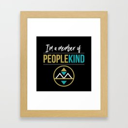 PeopleKind Framed Art Print