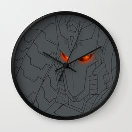 Eloquent Malice Wall Clock