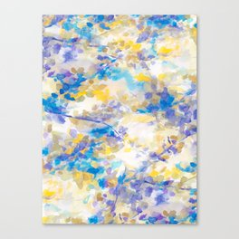 Canopy Blue Canvas Print