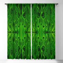 Toxic Squid by Chris Sparks Blackout Curtain