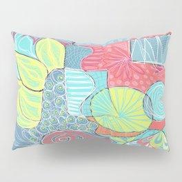 Retro Doodle design Pillow Sham