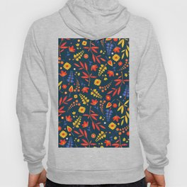 Colorful floral pattern V2 #society6 Hoody