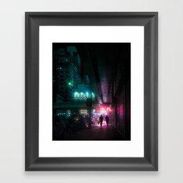 bad timing Framed Art Print