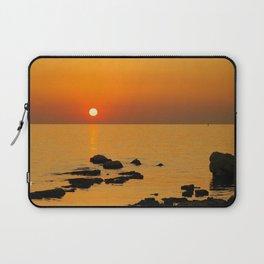 evening beach Laptop Sleeve