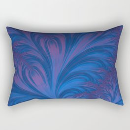 Stacking Hearts - Fractal Art Rectangular Pillow