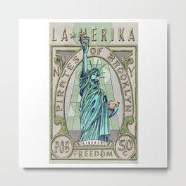 La Merika Metal Print