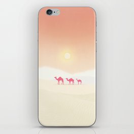 Minimal desert iPhone Skin