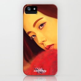 Jisoo - Black Pink (Square Two) iPhone Case