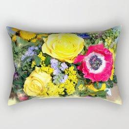Flowerage Rectangular Pillow
