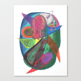Drawing #63 Canvas Print