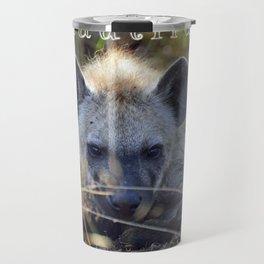 Beautiful Hyena Travel Mug