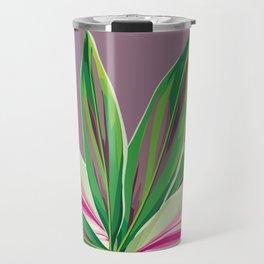 Green over violet Travel Mug