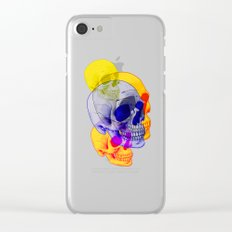 Skullfest Clear iPhone Case
