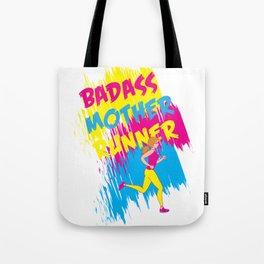 Badass Mother Runner Tote Bag