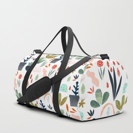 miniature garden Duffle Bag
