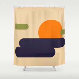 Summer Vacation Shower Curtain