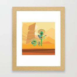Cacturiachis Framed Art Print