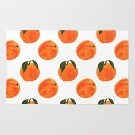 Peach Harvest Rug