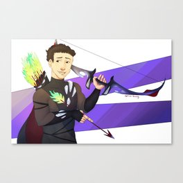 Archer Yuri Canvas Print