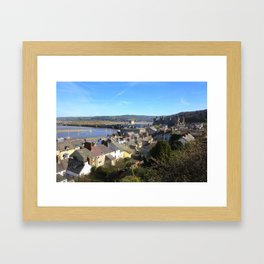 Spring Day At Conwy Framed Art Print