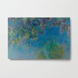Monet - Wisteria Metal Print
