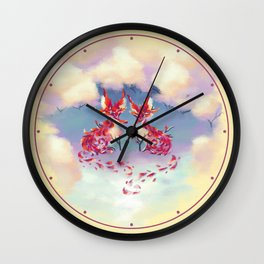 Essence of Nature - A Tender Howl Wall Clock