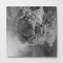 Smoked Metal Print