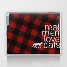 Real Men Love Cats Laptop & iPad Skin