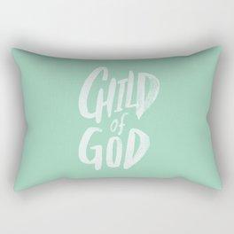 Child of God x Mint Rectangular Pillow