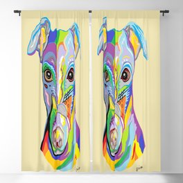 Greyhound Blackout Curtain