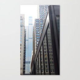 Giant of Chicago Canvas Print