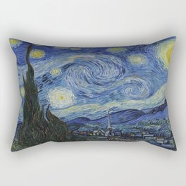 Vincent van Gogh's Starry Night Rectangular Pillow