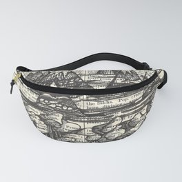 Doodle View Fanny Pack