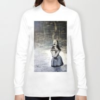 indigo Long Sleeve T-shirts featuring Indigo by Terrel