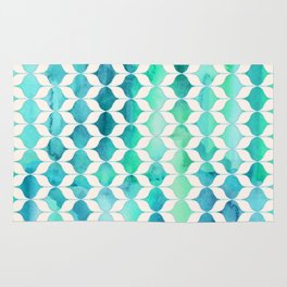 Ocean Rhythms and Mermaid's Tails Rug