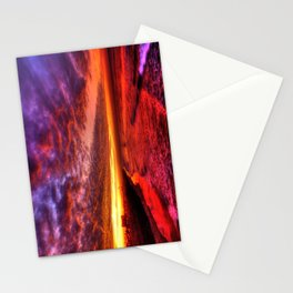 Dawn In Southern California Stationery Cards