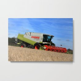 A Touch Of Claas 'Claas Lexion 470' Combine Harvester Metal Print