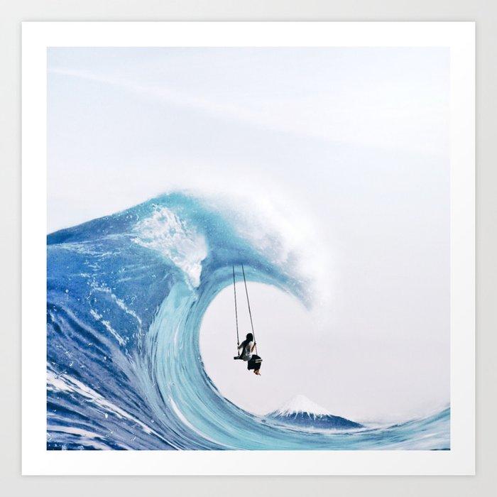The Great Wave Kunstdrucke