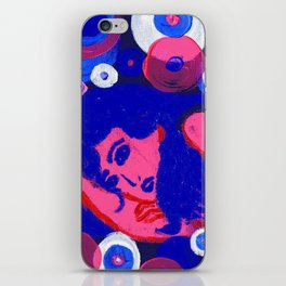 Psychedelic Love, No. 3 iPhone Skin