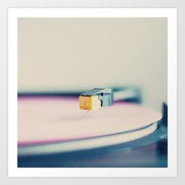 The Pink Record Art Print