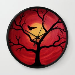 Favorite Landing Spot Wall Clock